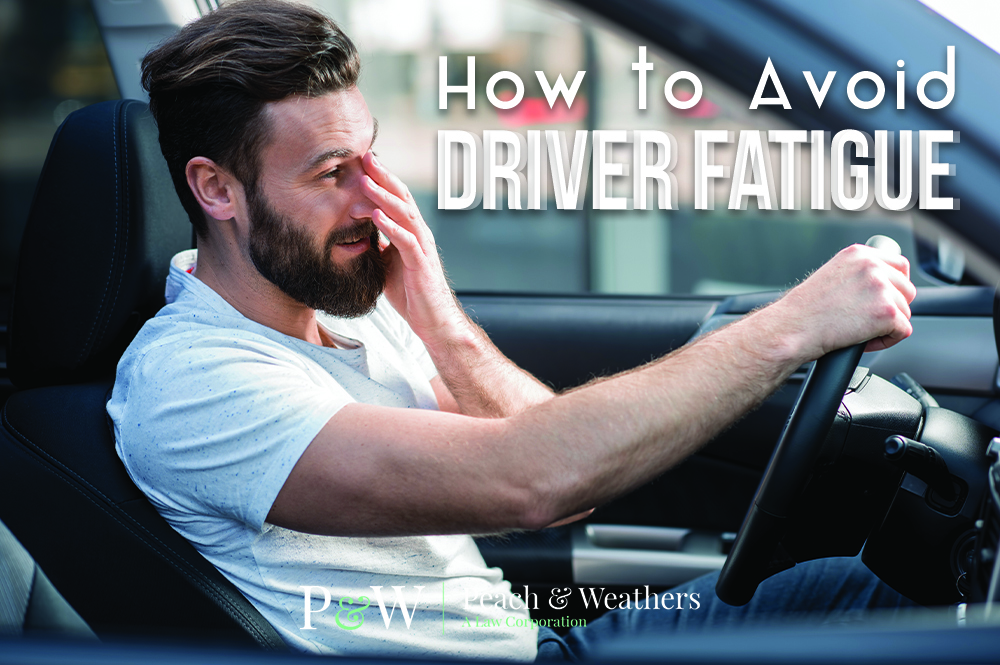 How to Avoid Fatigued Driving