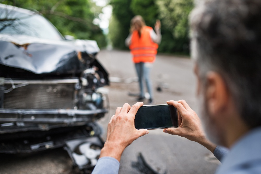 Taking Photos After an Accident