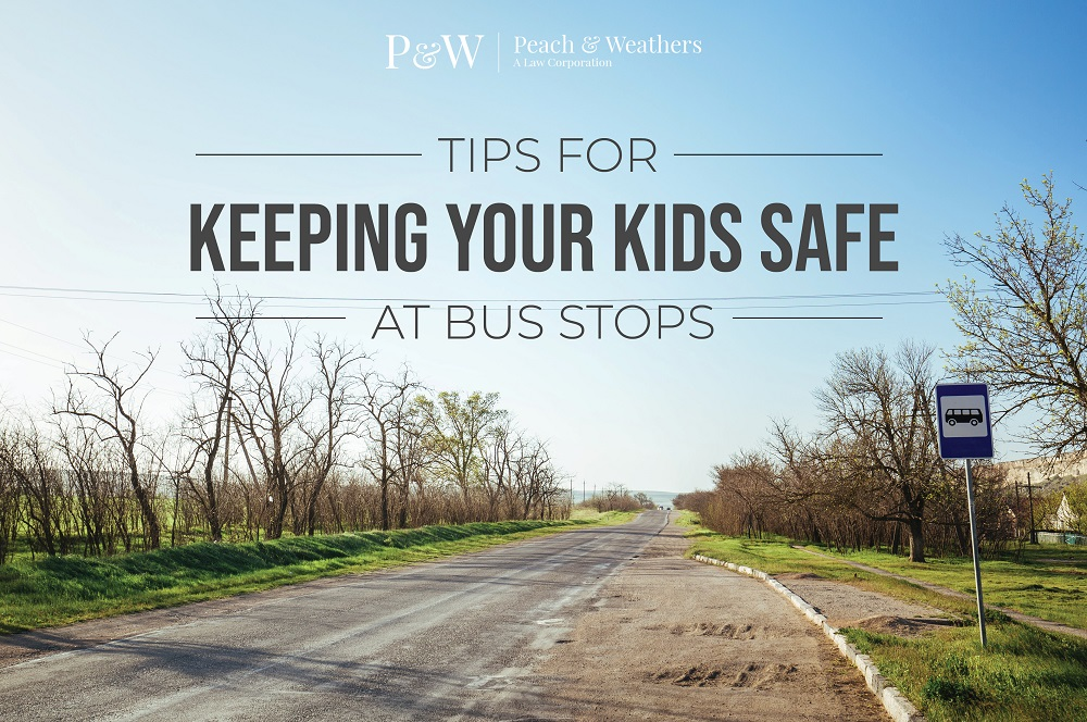 Tips for Keeping your Kids Safe at Bus Stops