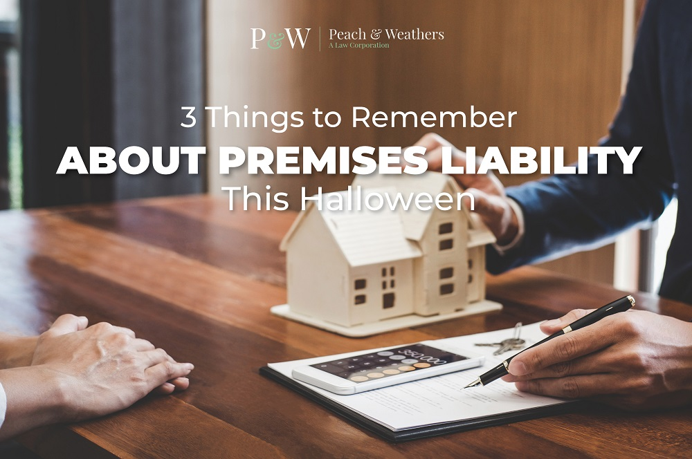 3 Things to Remember About Premises Liability This Halloween