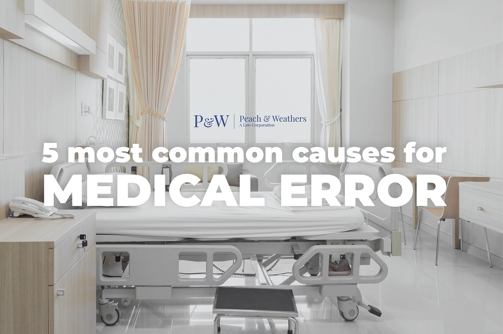5 Most Common Causes for Medical Error