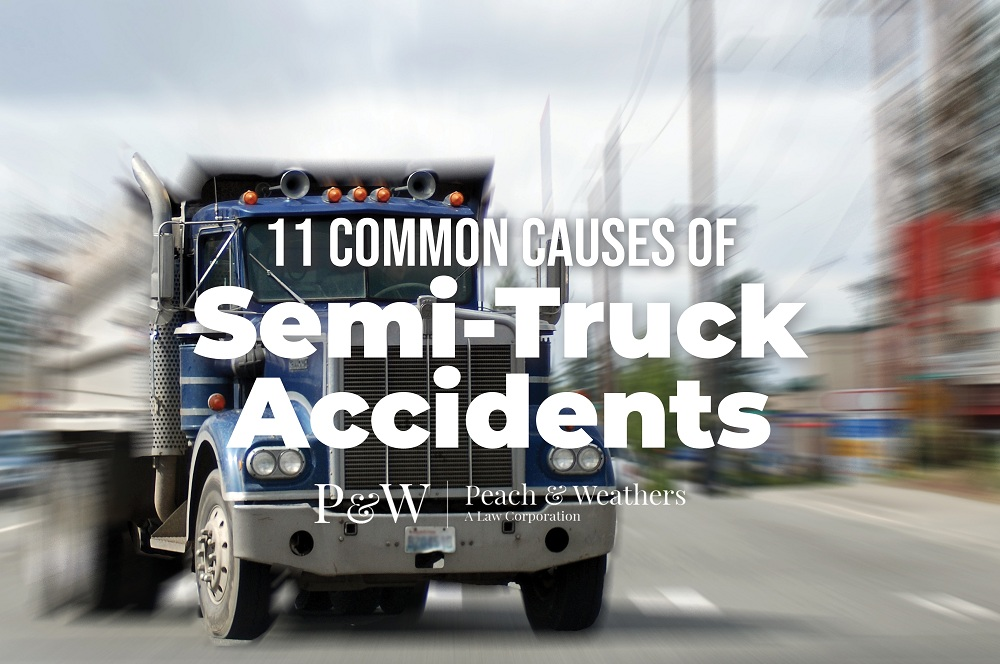 11 Common Causes of Semi-Truck Accidents
