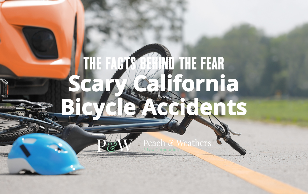 The Facts Behind The Fear Scary California Bicycle Accidents