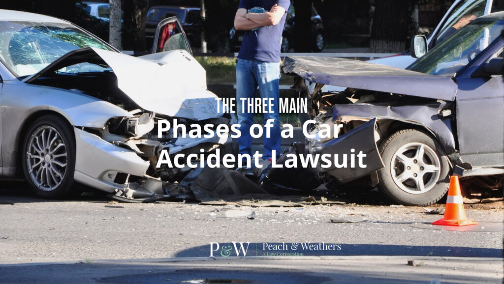 The Three Main Phases of a Car Accident Lawsuit