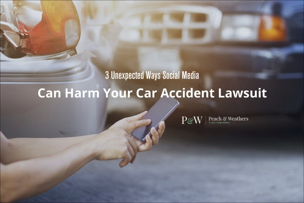 social media can harm your car accident lawsuit